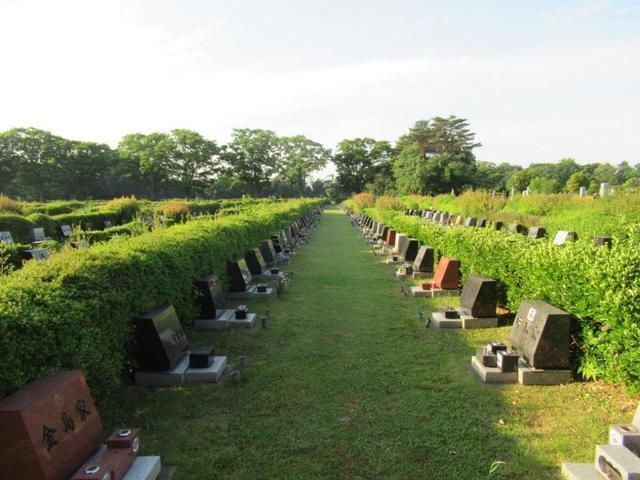 写真③-3 東側の芝生墓地.jpg